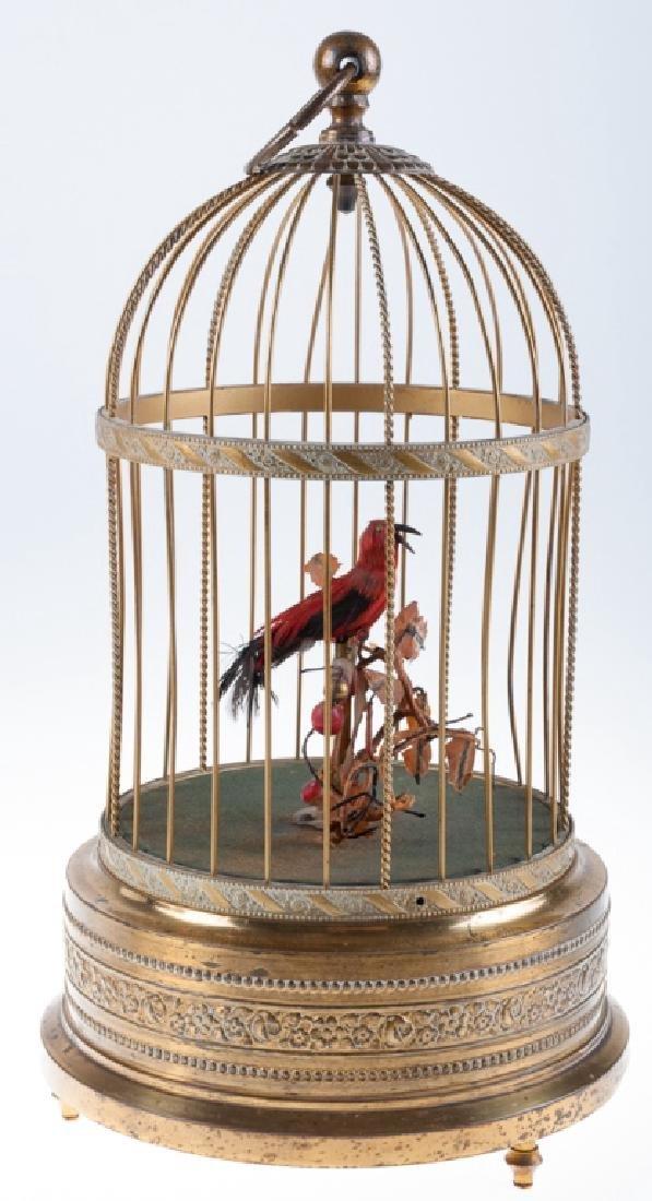 Birdcage Automaton Circa 1890s