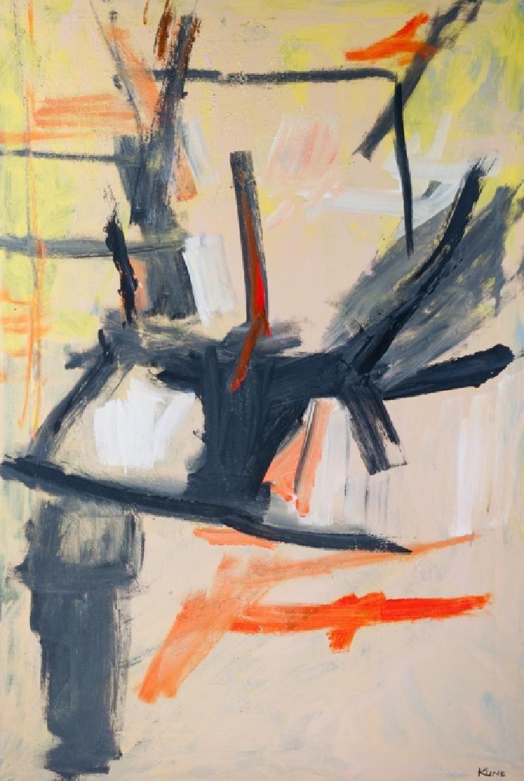 Franz Kline Untitled Oil On Canvas