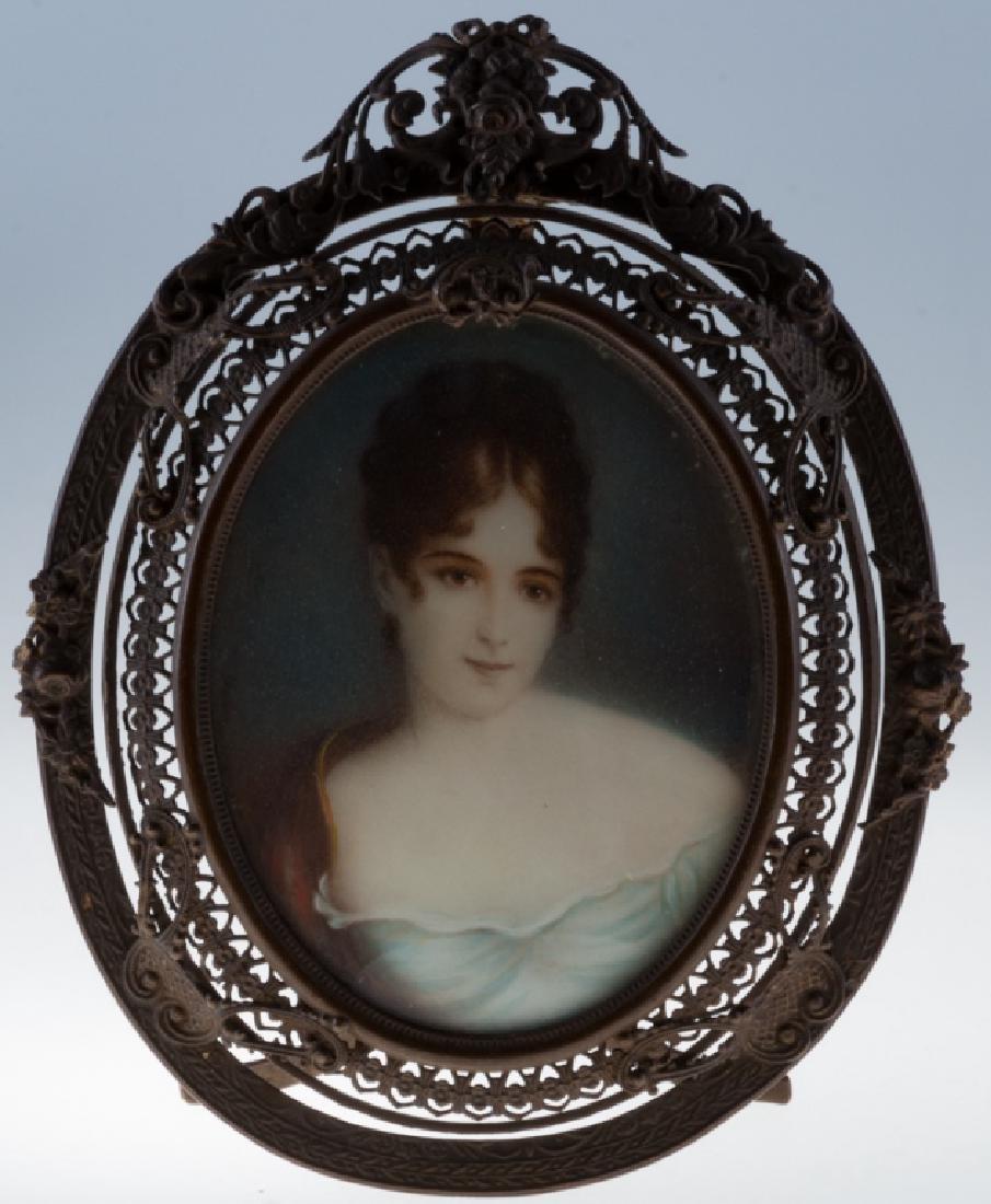 Claude Charles Gerard French Portrait Miniature