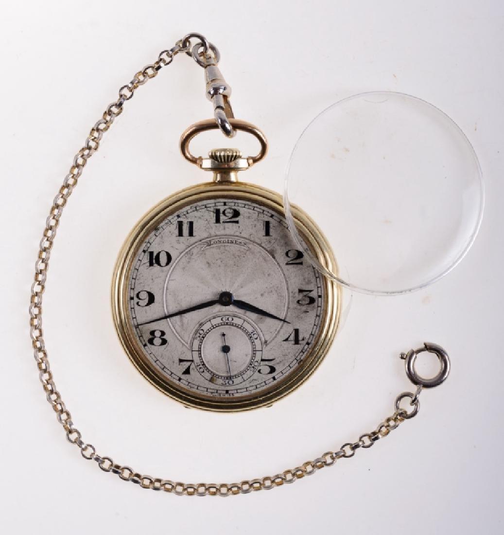 Longines Vintage Pocket Watch, Barnes Estate
