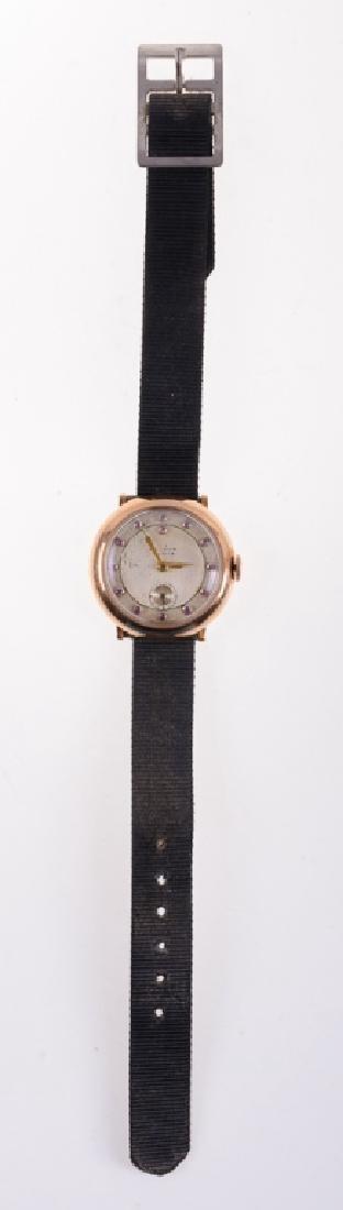 Waltham Antique 14K & Ruby Watch, Barnes Estate
