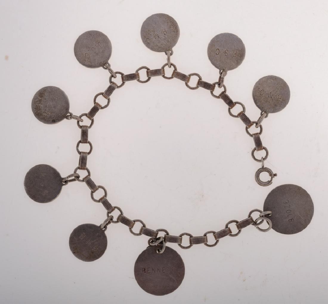 Barnes Family Sterling Charm Bracelet