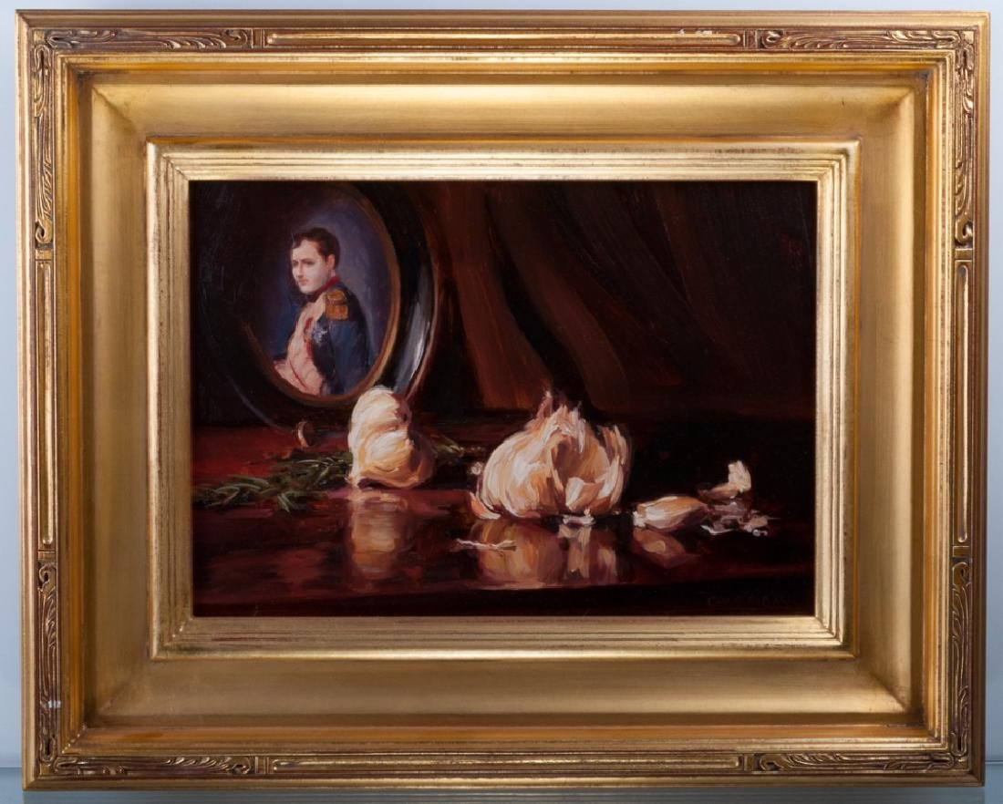 "Chas Fagan ""Pouvoir"" Oil On Canvas"