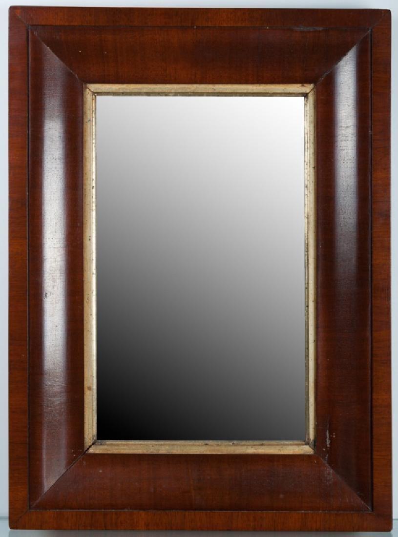 Mahogany Ogee Wall Mirror