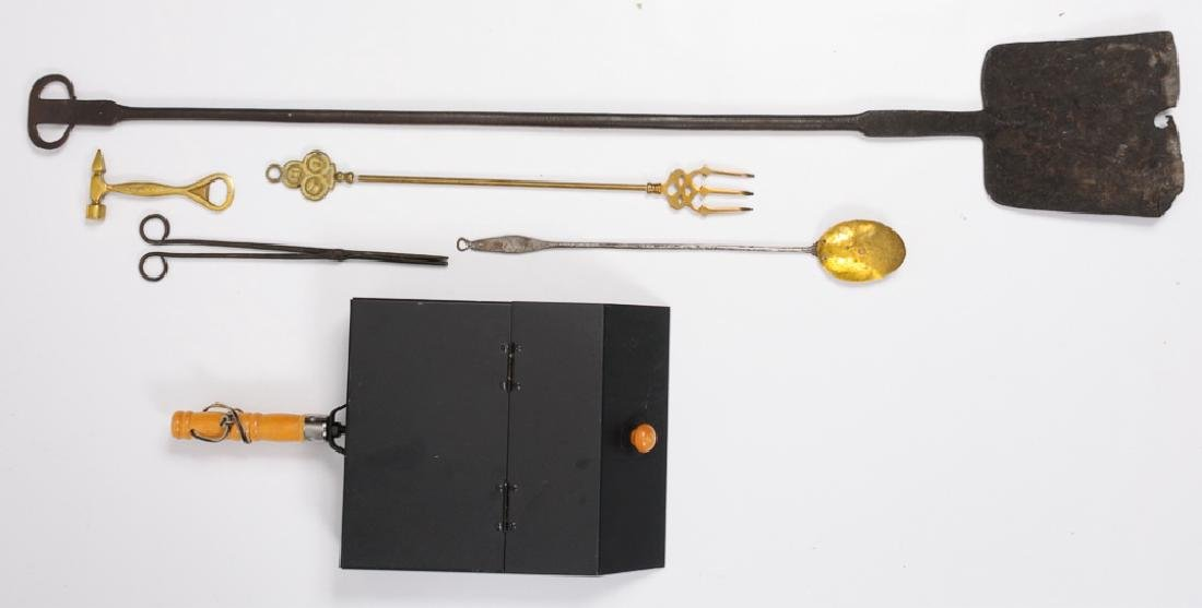 Fireplace Cooking Utensils Group