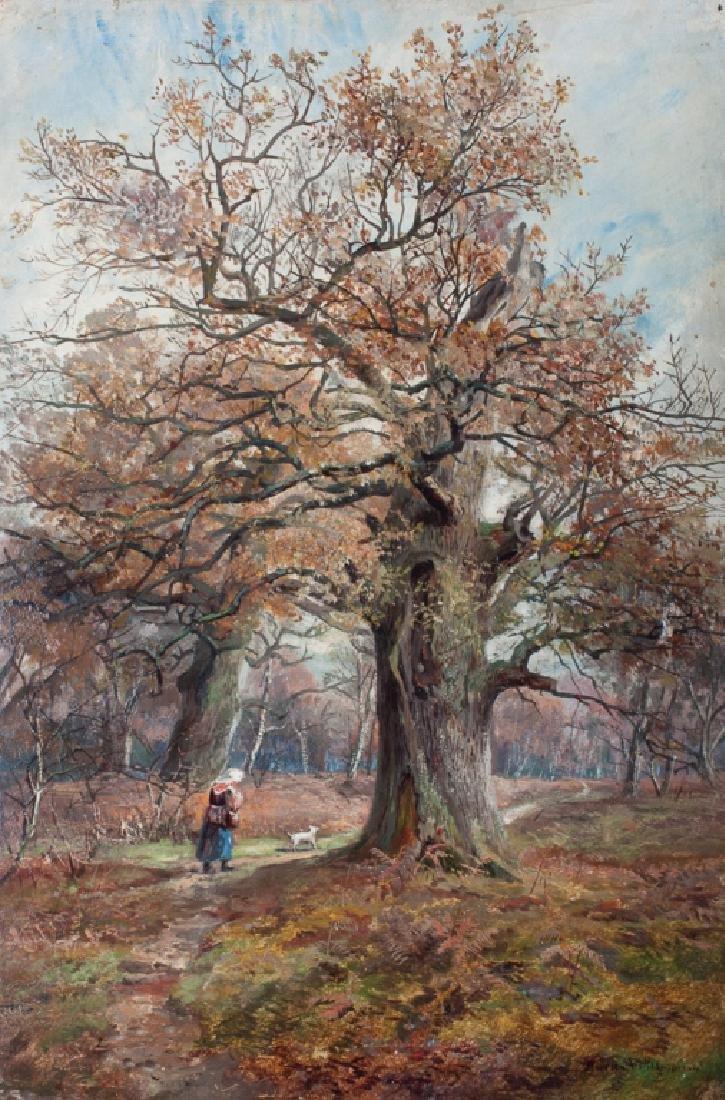Hudson Willis Oil on Canvas Painting