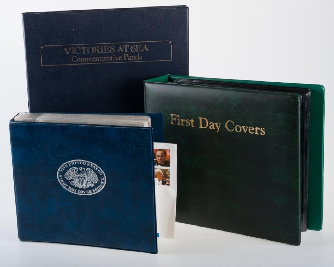 First Day Covers Trio