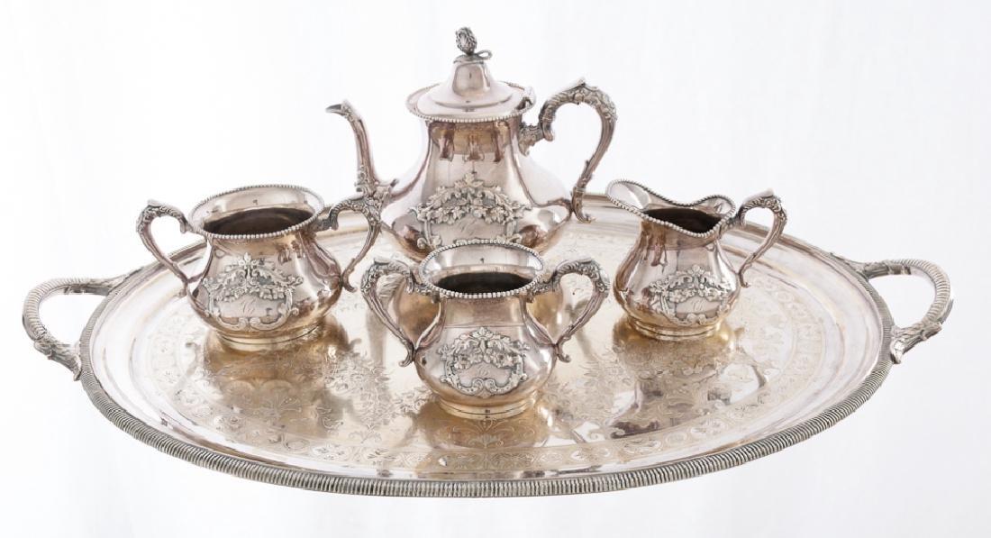 Apollo Silver Co. Silver Plated Tea Service