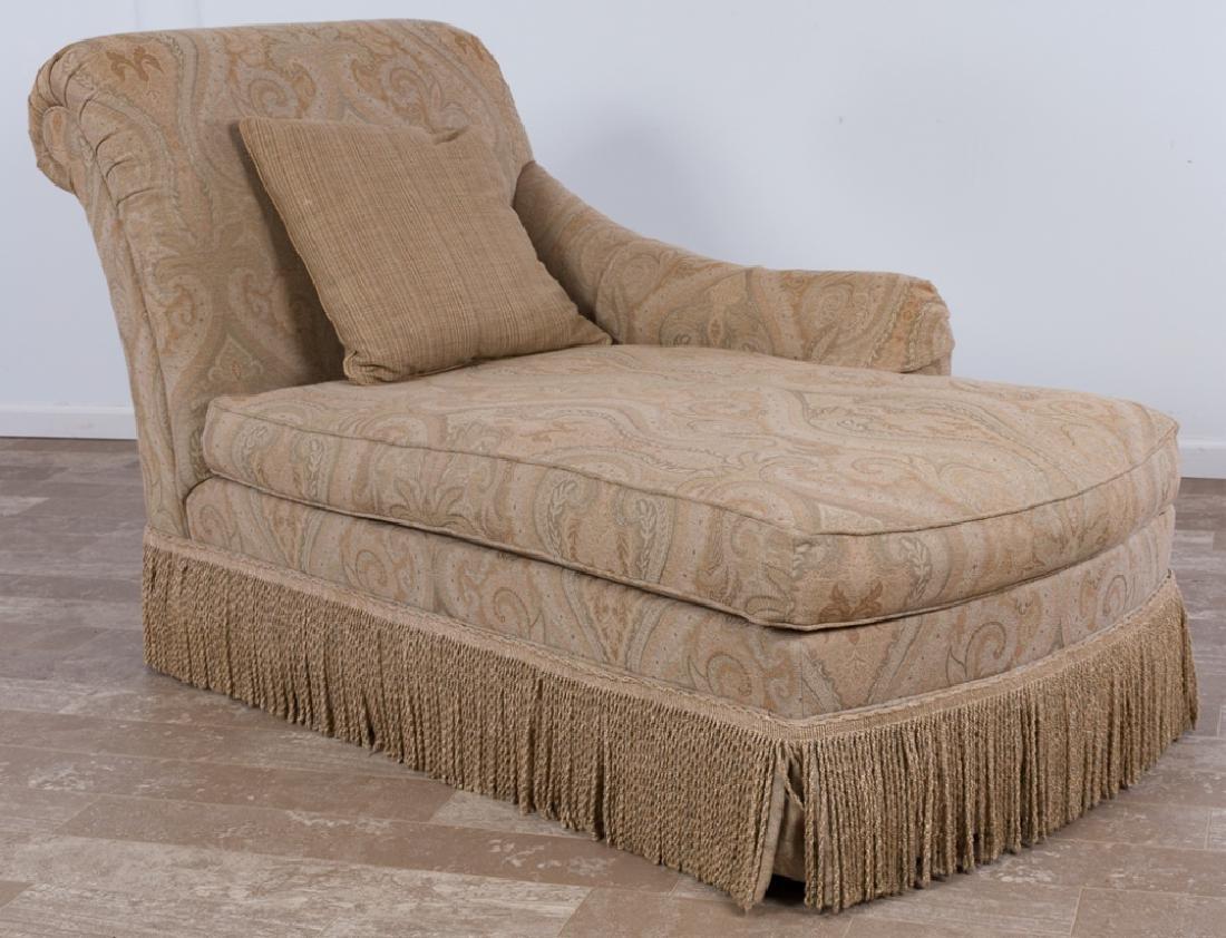 Ethan Allen u201cMonaco RAFu201d Chaise Lounge : ethan allen chaise lounge - Sectionals, Sofas & Couches