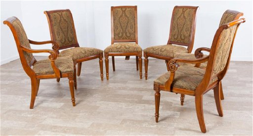 Ethan Allen Adison Dining Chairs Set 6 P Jan 20 2018 Bremo Auctions In Va