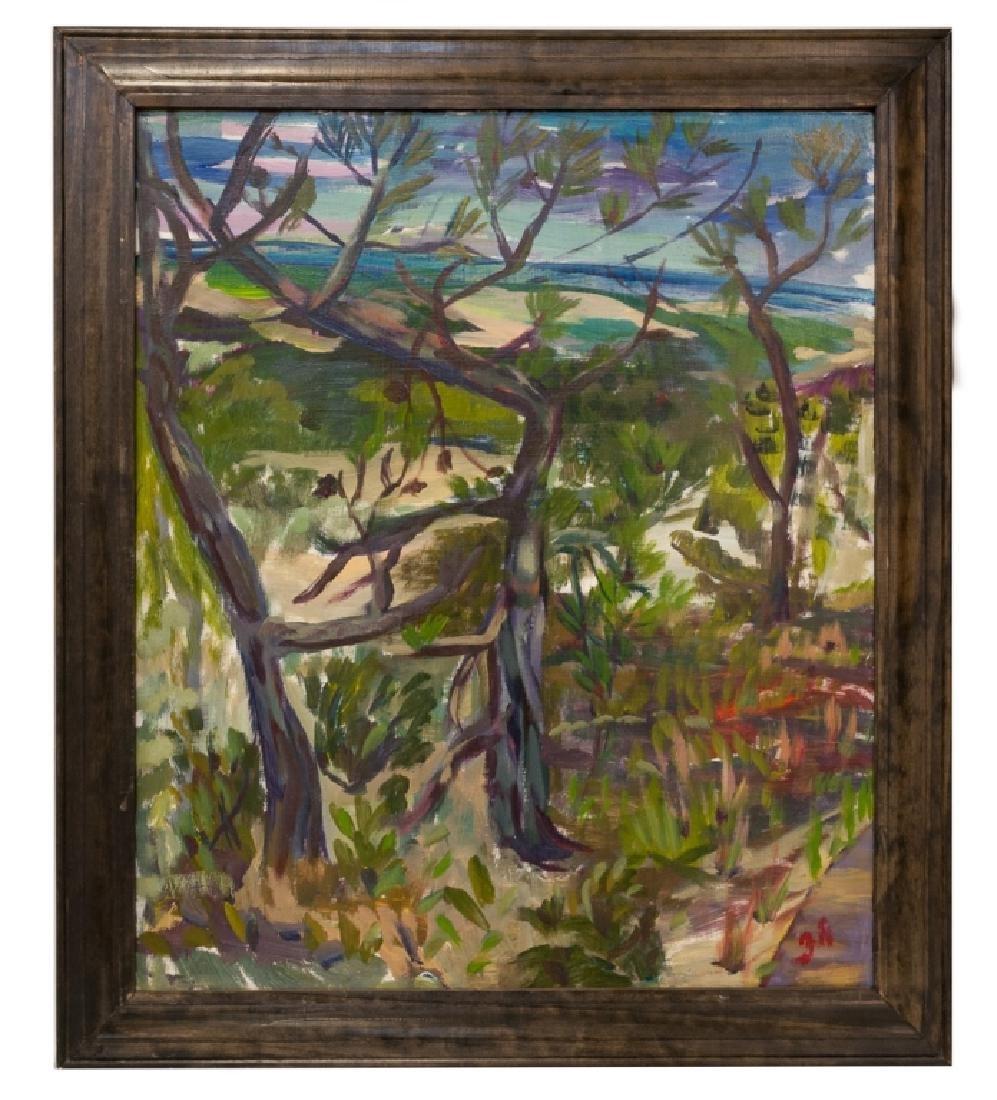 "Robin Hoffman ""Cape Cod Mass."" Landscape Ptg."