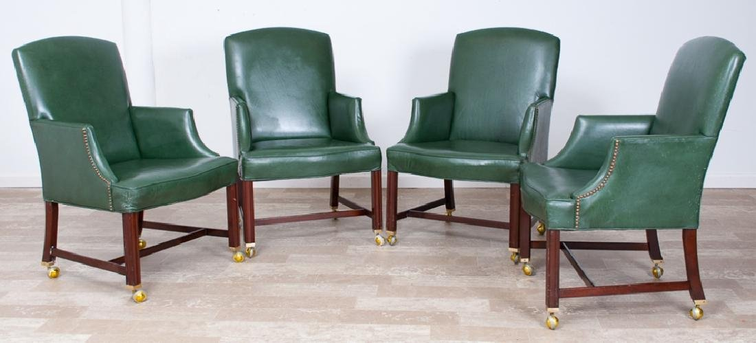 Kittinger Library Armchairs Group