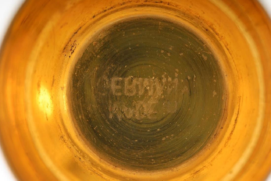 German Travel Shot Glass Set & WMF Sugar Spoon - 9