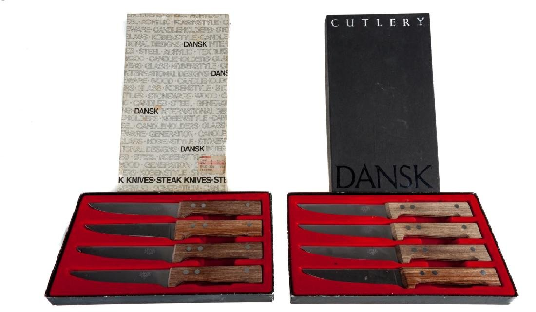 Dansk International Steak Knives Group