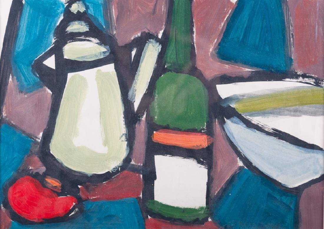 Deborah Zlotsky Still Life Oil on Paper - 2
