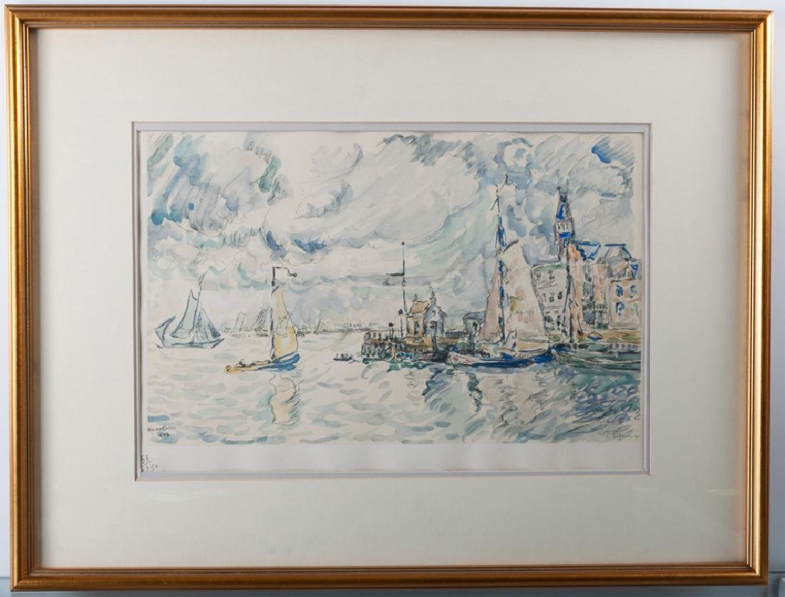 Paul Signac Collotype on Paper