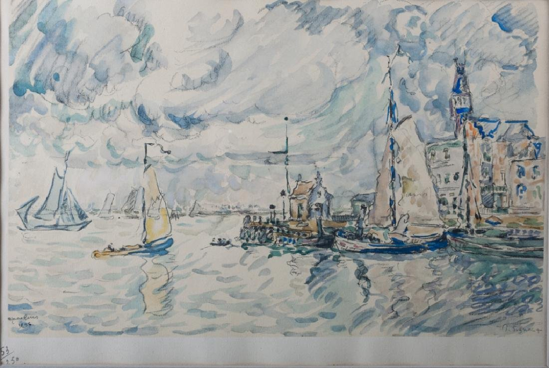 Paul Signac Collotype on Paper - 2