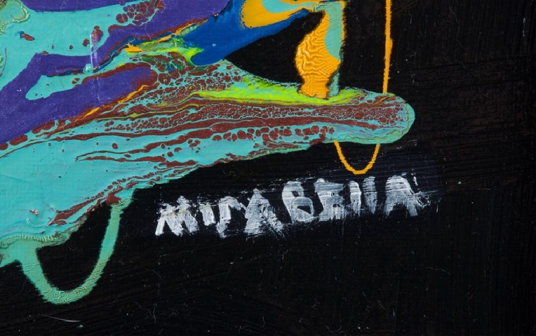 "Dominick Mirabella ""Celebration"" Acrylic On Canvas - 3"