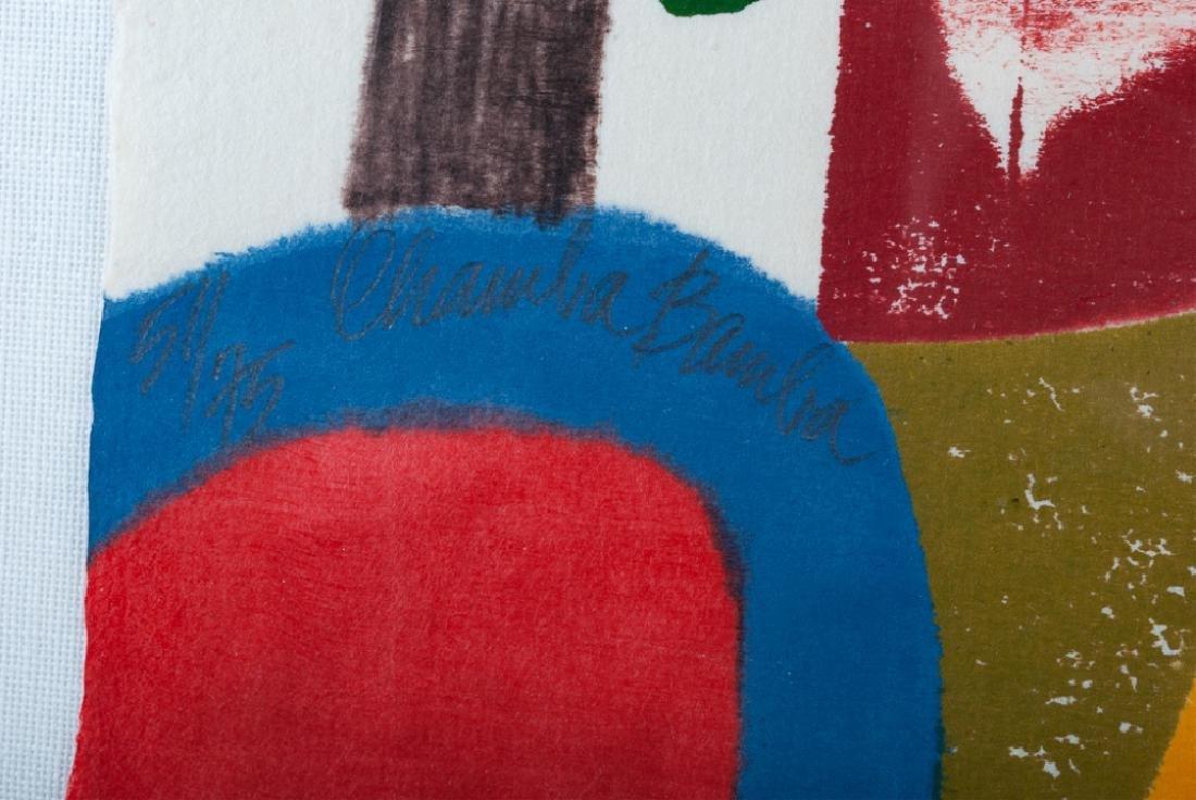 """Carol Summers """"Chamba-Bamba"""" Woodcut 51/75 2004 - 4"""