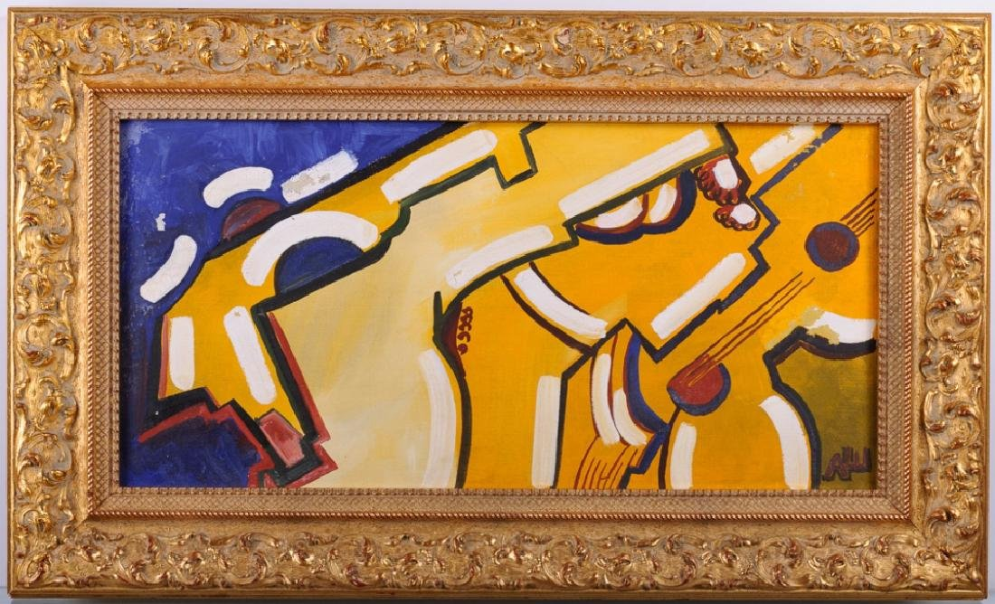Alexander Shevchenko Abstract Oil On Canvas