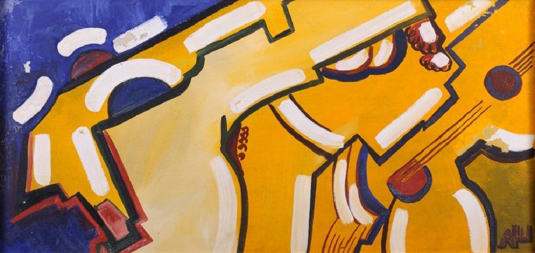 Alexander Shevchenko Abstract Oil On Canvas - 2