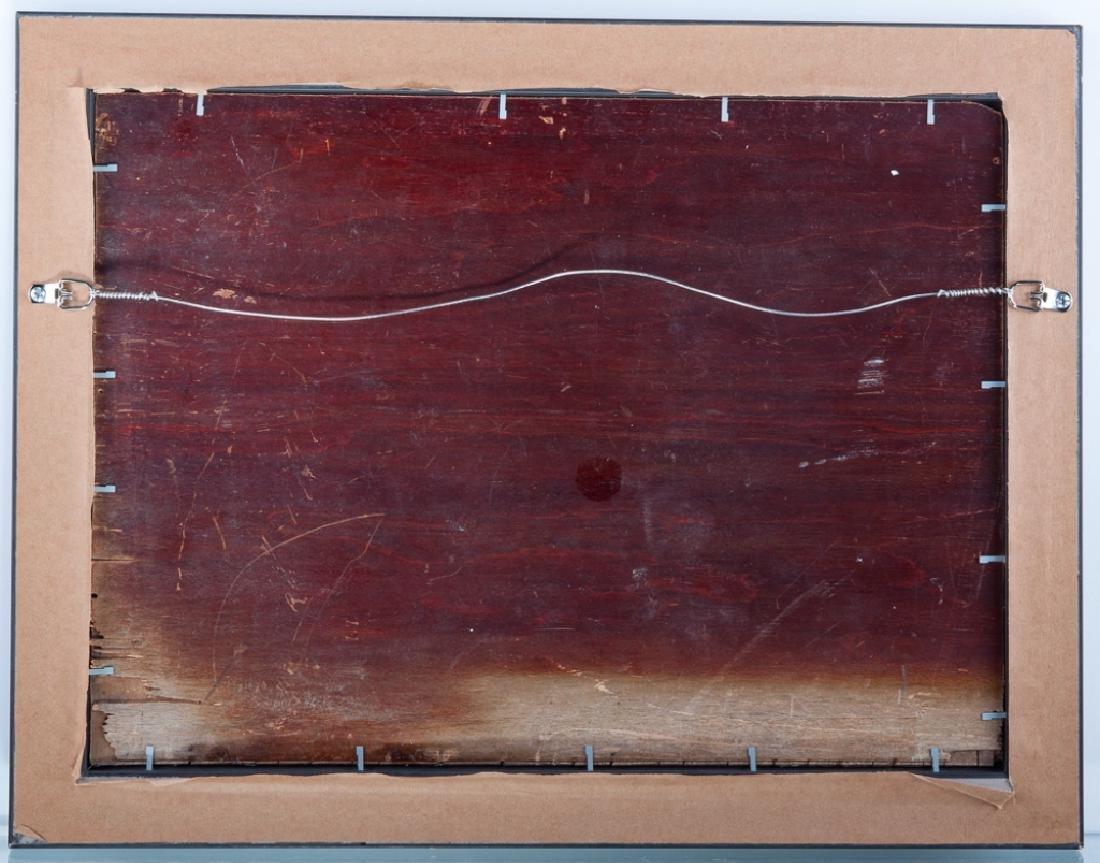 Liubov Popova Geometric Abstract Oil On Panel - 4