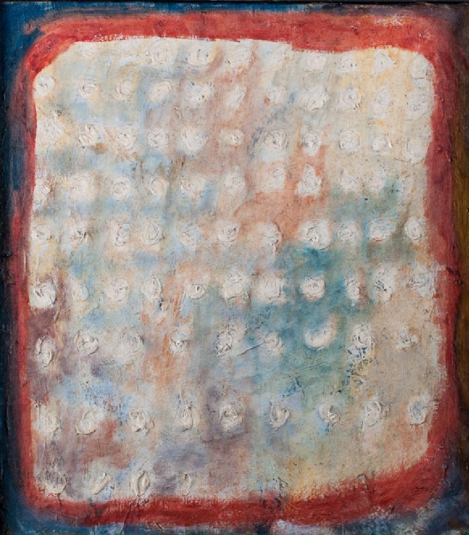 Sidney Dickman Impasto Abstract Oil On Canvas