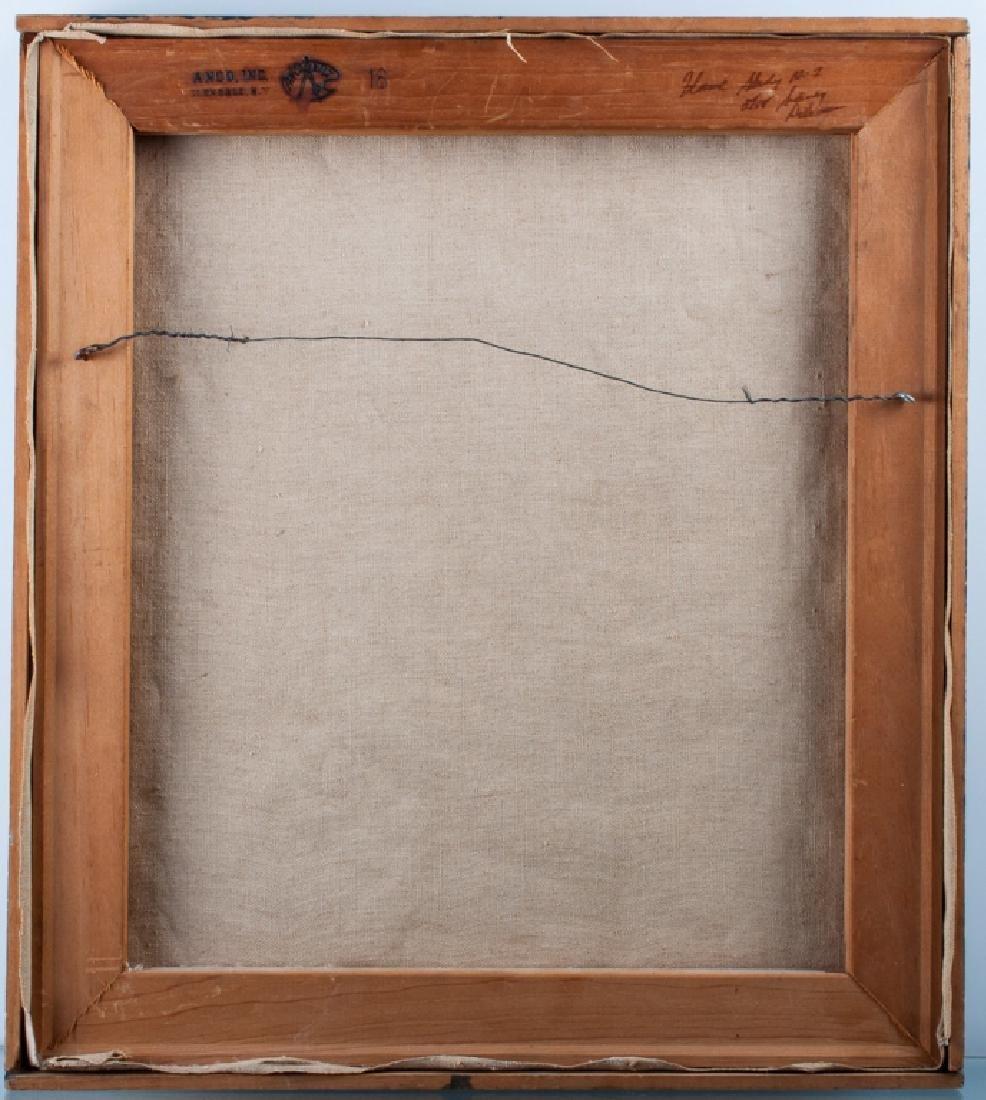 Sidney Dickman Impasto Abstract Oil On Canvas - 3
