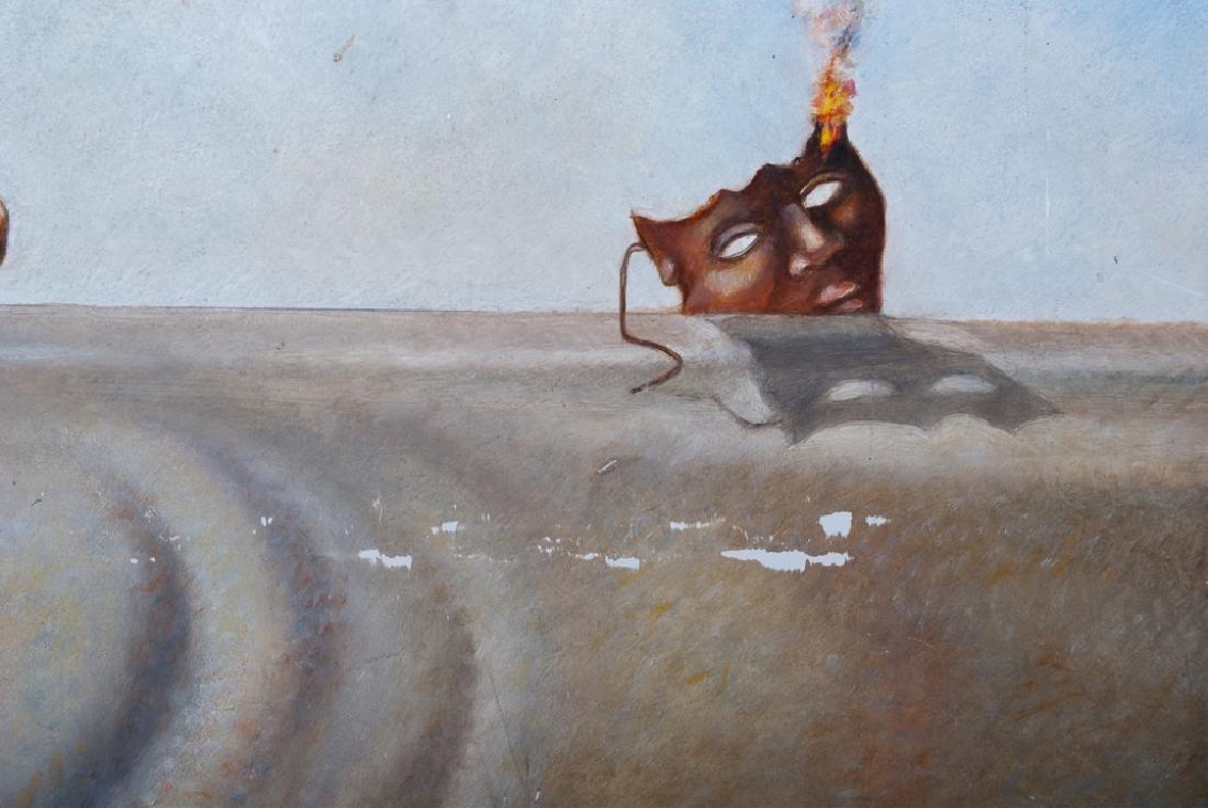 Israel Rubinstein Oil on Masonite Painting - 4