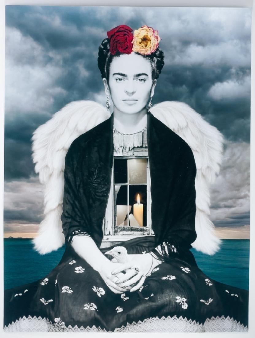 Tan Tolga Demirci Photo Collage, Frida Kahlo