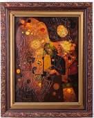 Yankel Jacob Ginsburg Mixed Media on Canvas
