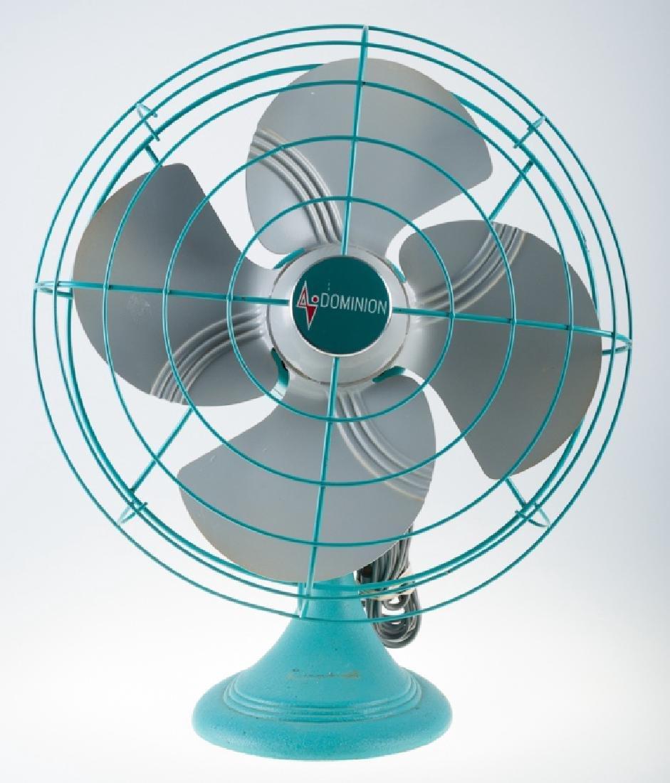 Vintage Dominion Electric Fan - 2