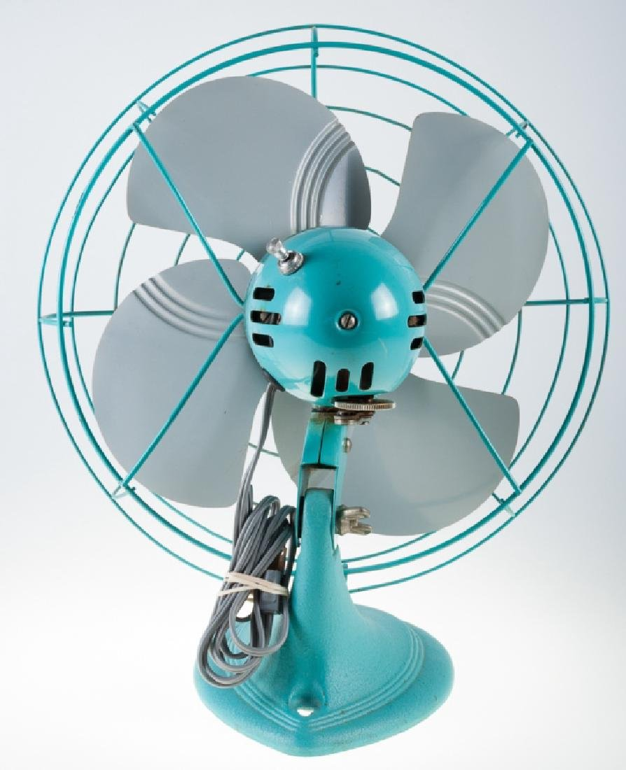 Vintage Dominion Electric Fan - 4