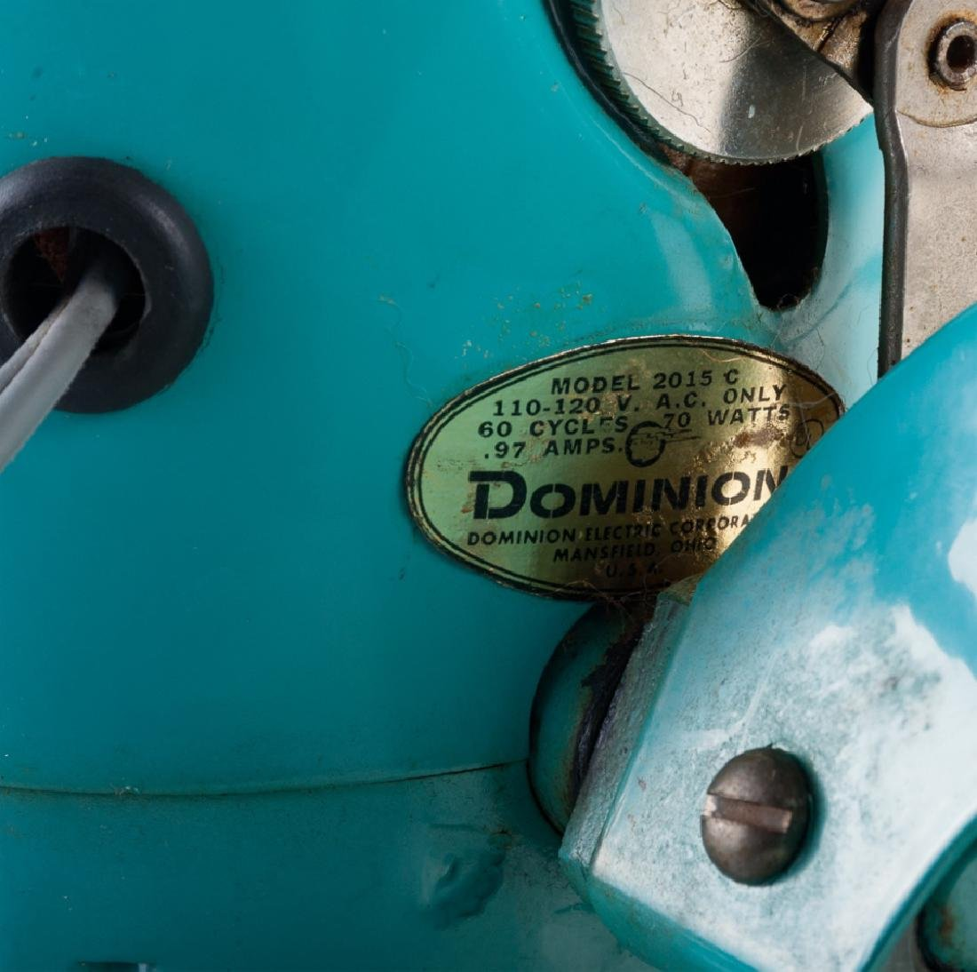 Vintage Dominion Electric Fan - 7