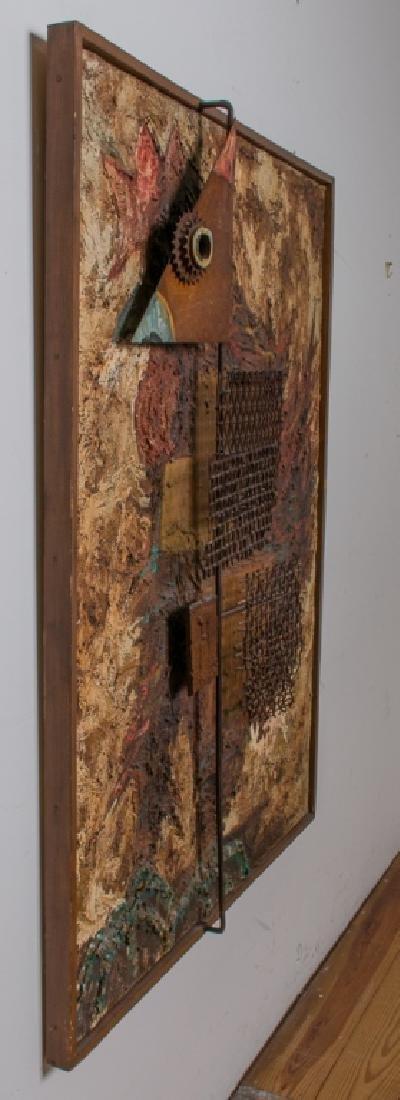 Amalio Garcia del Moral Rooster Wall Sculpture - 4