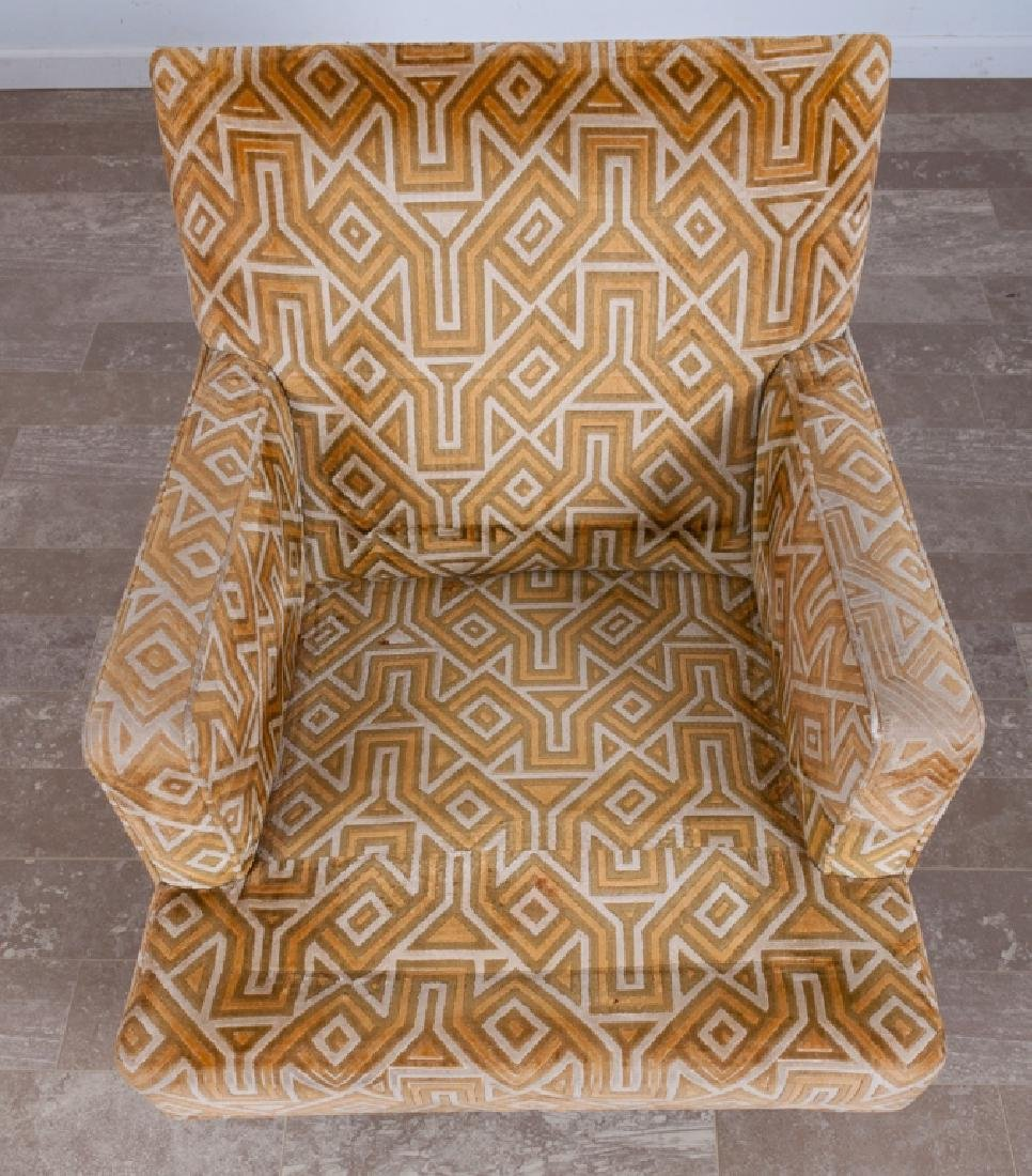Upholstered Lounge Chair - 3
