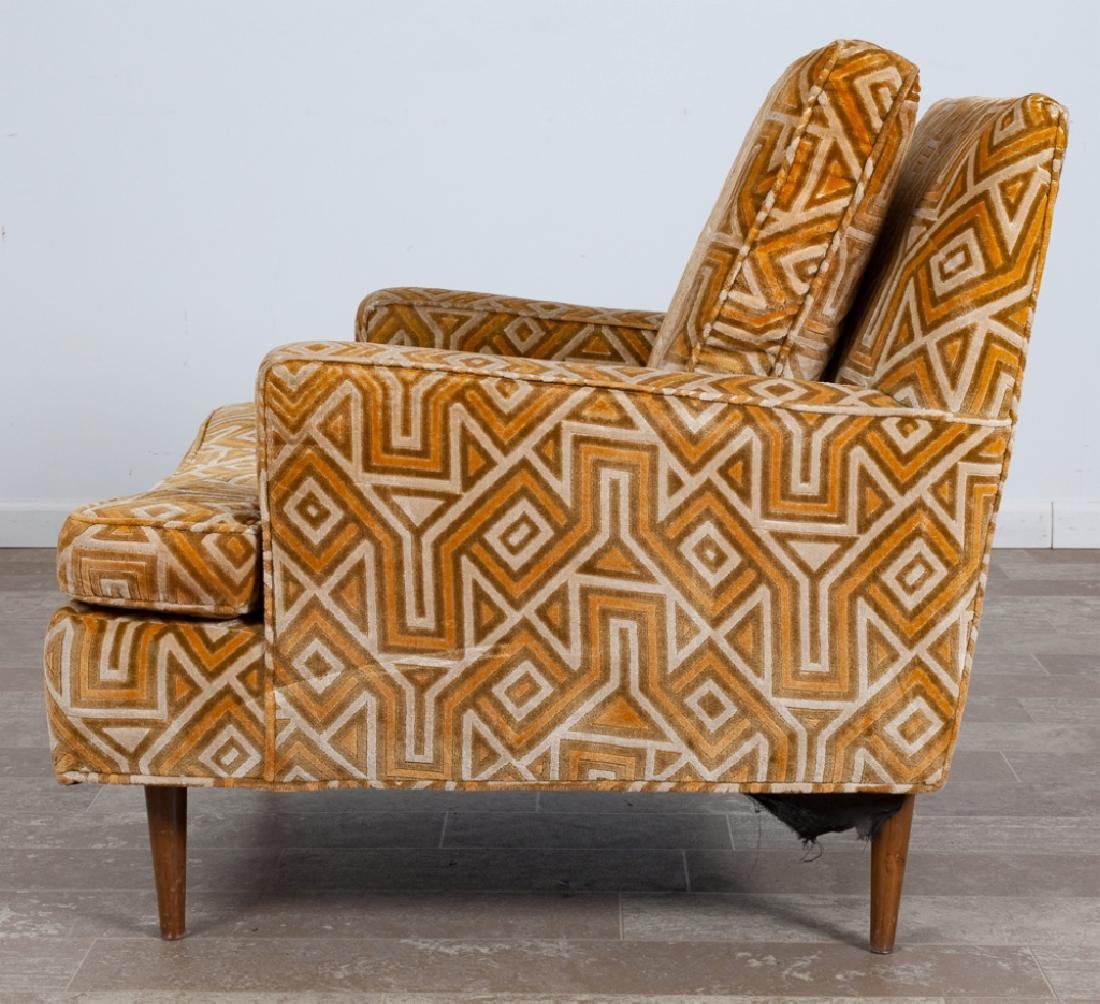 Upholstered Lounge Chair - 4