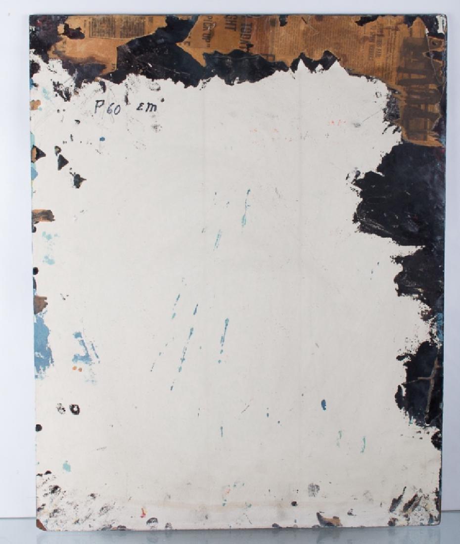 E. Metzger Rockabilly Dame Portait Oil On Panel - 4