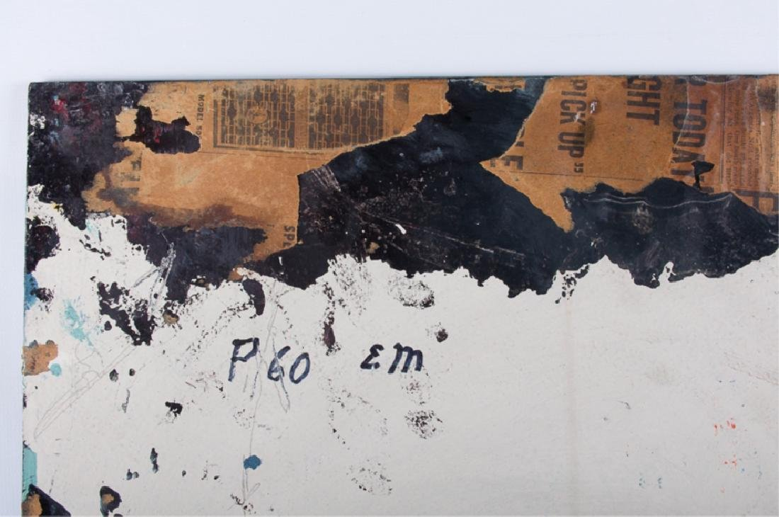 E. Metzger Rockabilly Dame Portait Oil On Panel - 5