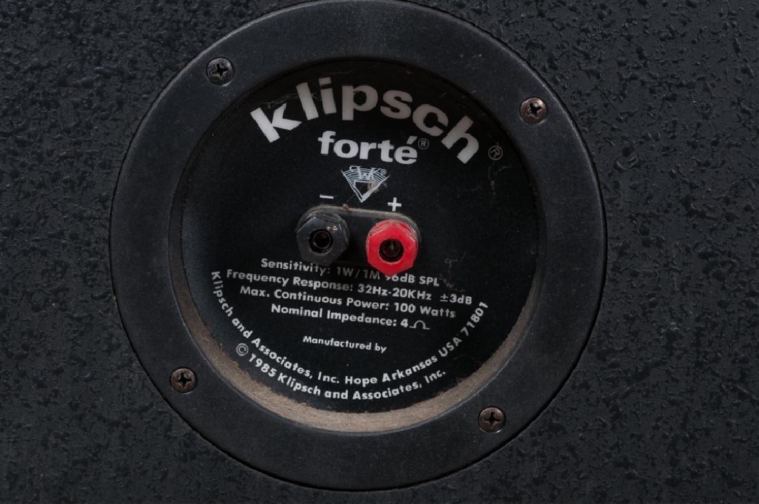 Klipsch Forte Speaker System - 7