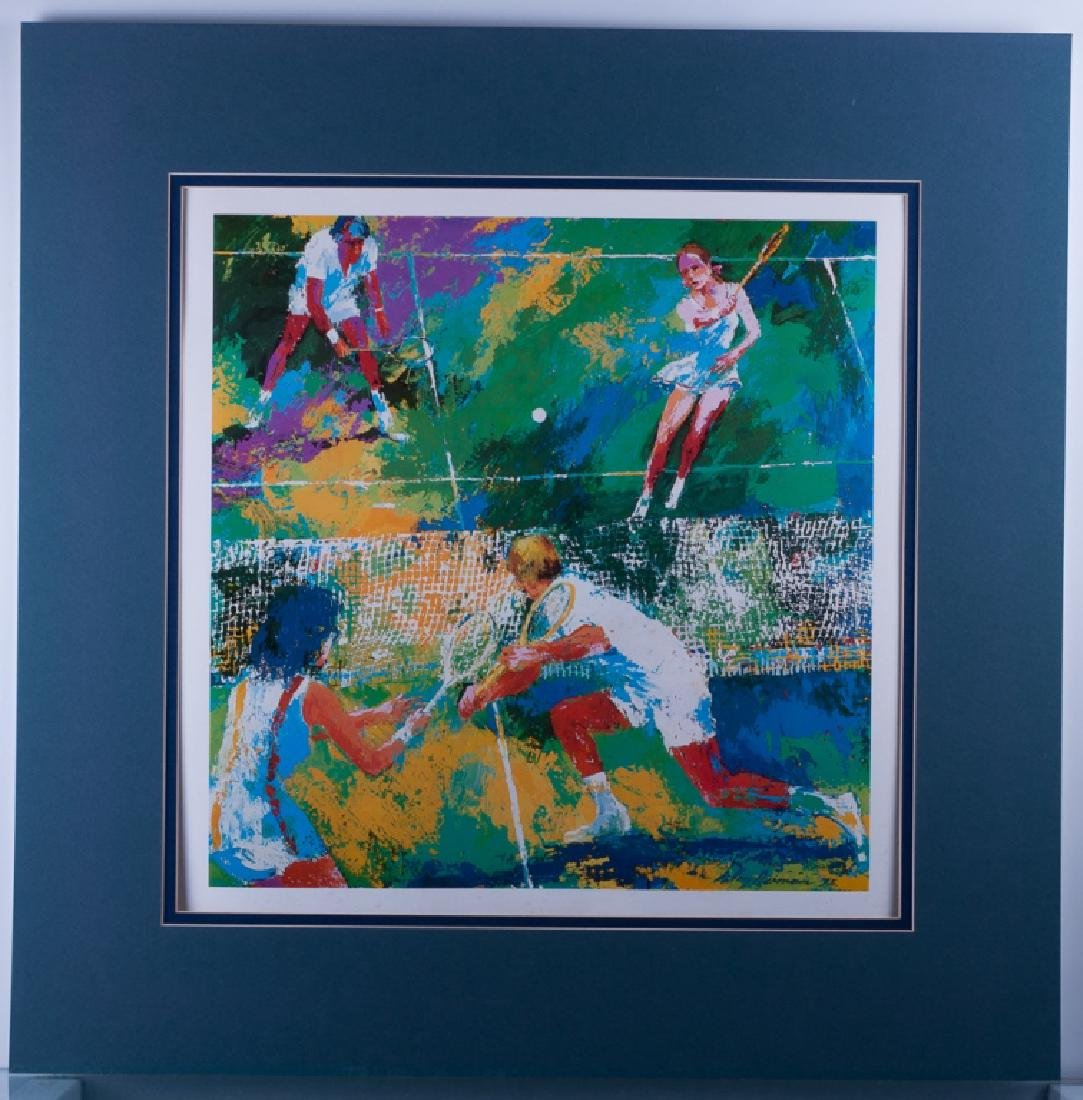 """LeRoy Nieman """"Mixed Doubles"""" Offset Lithograph - 2"""