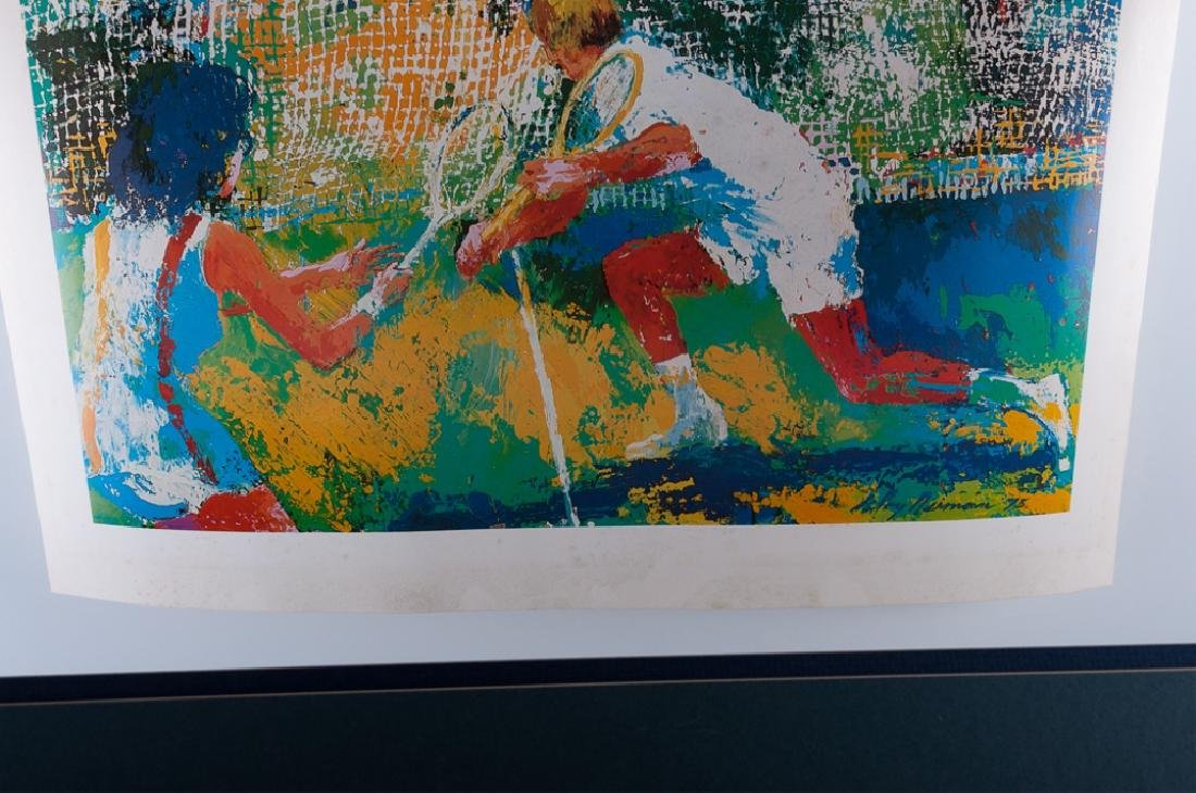 """LeRoy Nieman """"Mixed Doubles"""" Offset Lithograph - 4"""