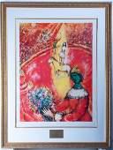 Marc Chagall Circus 509750 Lithograph