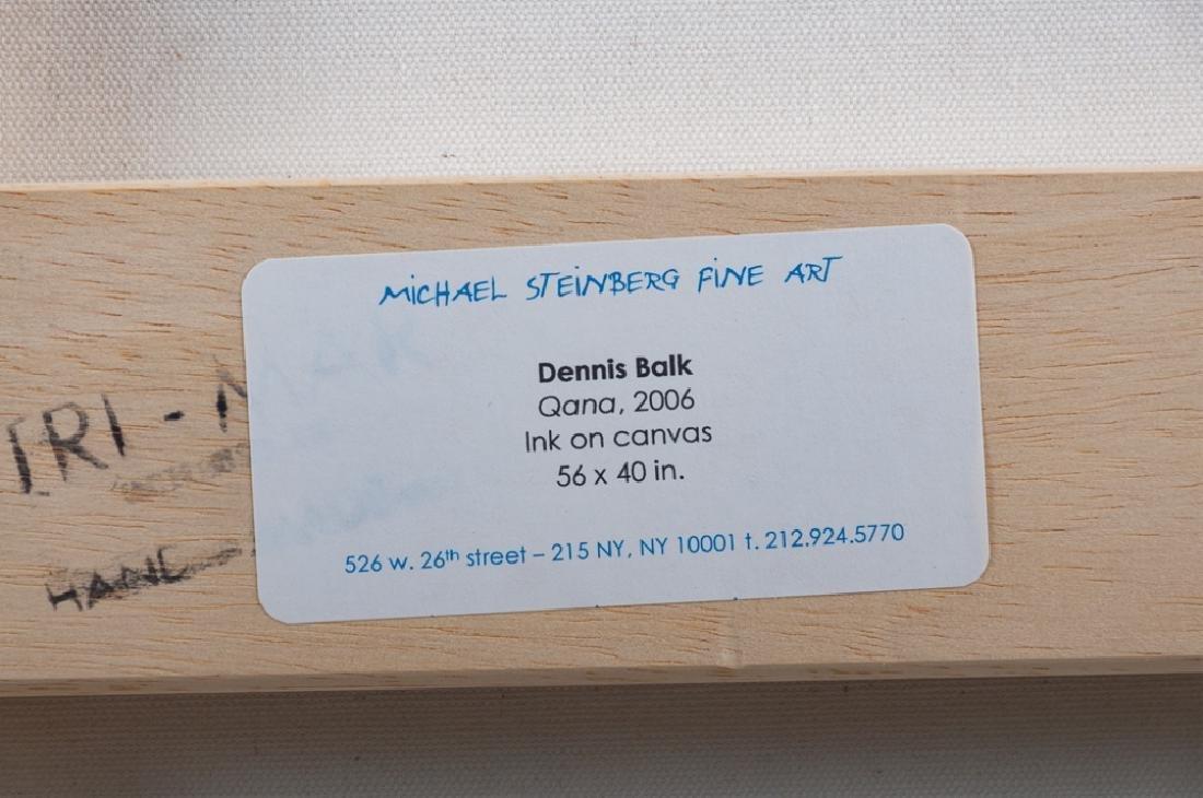 Dennis Balk Ink on Canvas - 4
