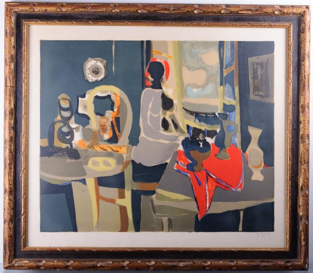 """Marcel Mouly """"Seated Nude"""" 115/200 Signed Litho"""