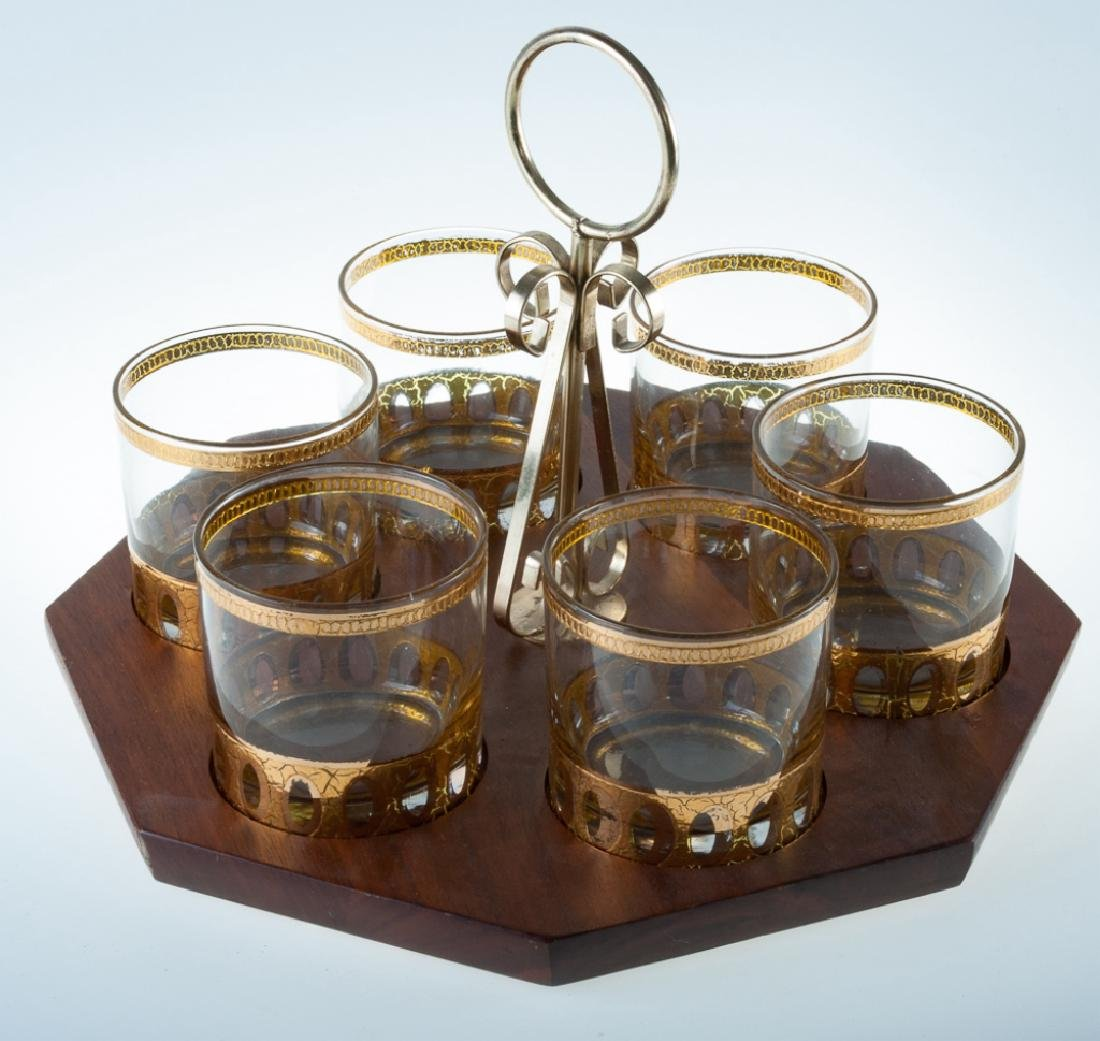 Culver Double Old Fashion Rocks Glass Set