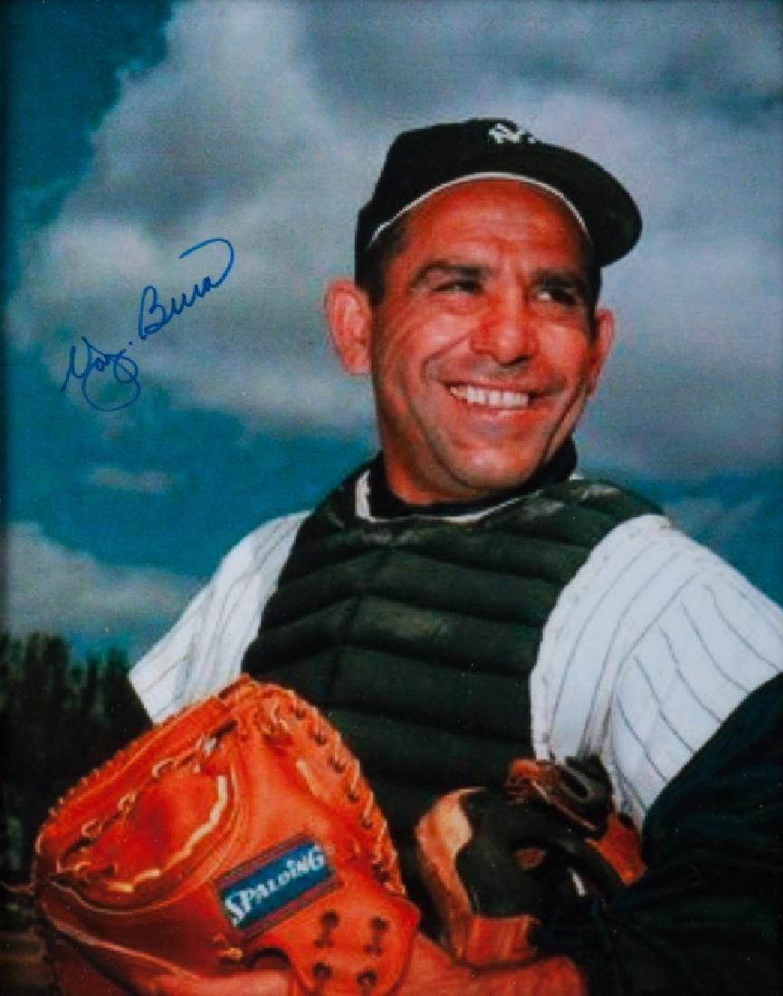 Yogi Berra Autographed Photo, W/ COA