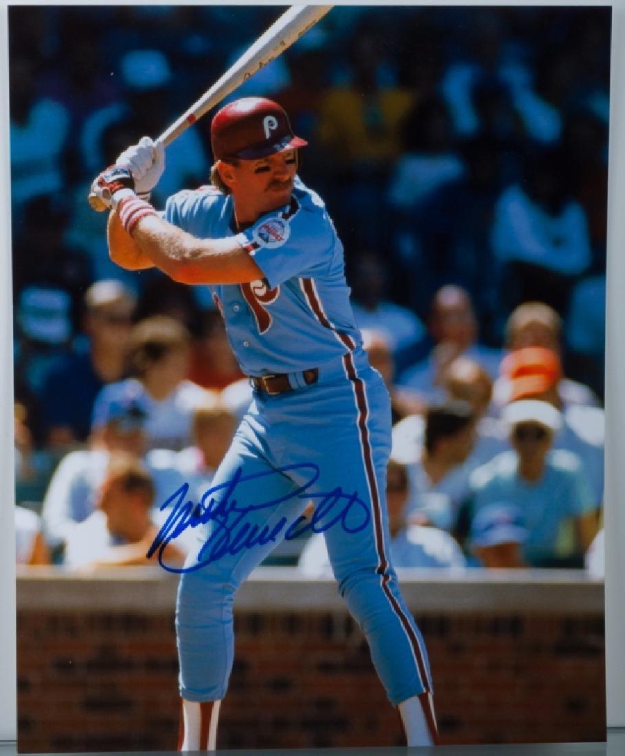 Mike Schmidt Autographed Photo, W/ COA