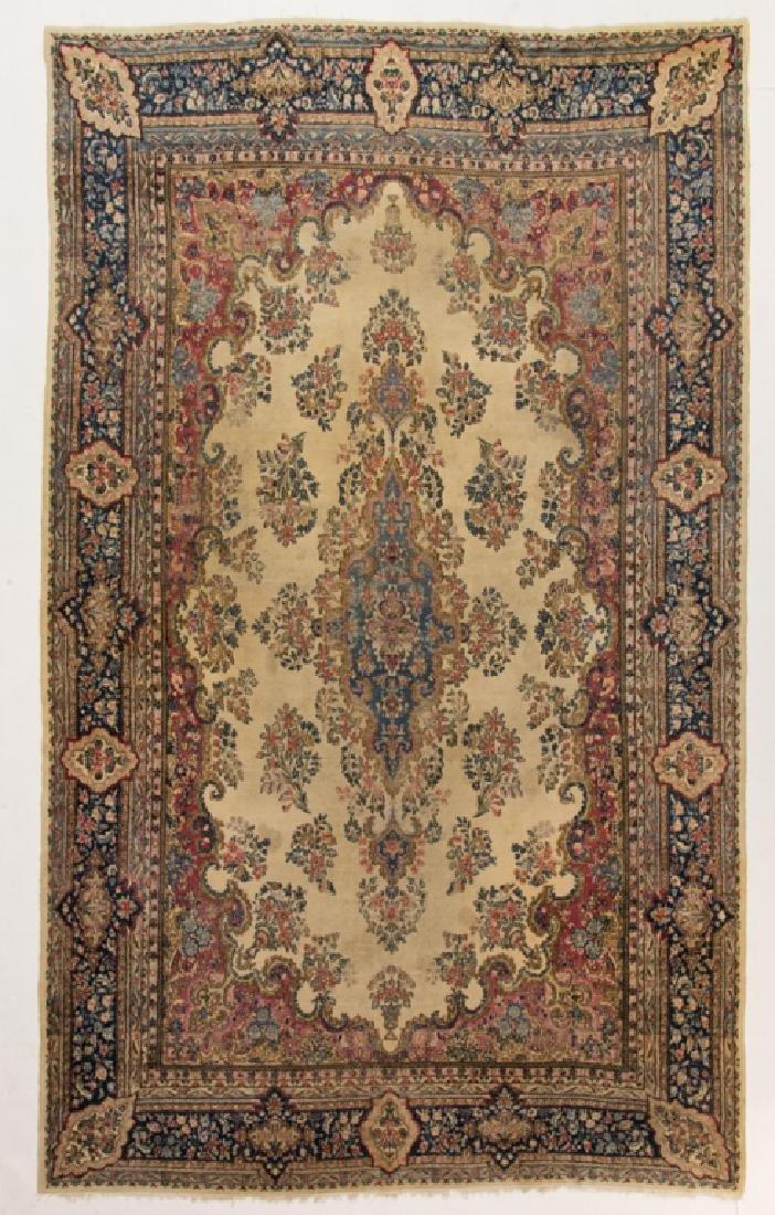 """Persian Kerman 9''5"""" x 15'8"""" Rug"""