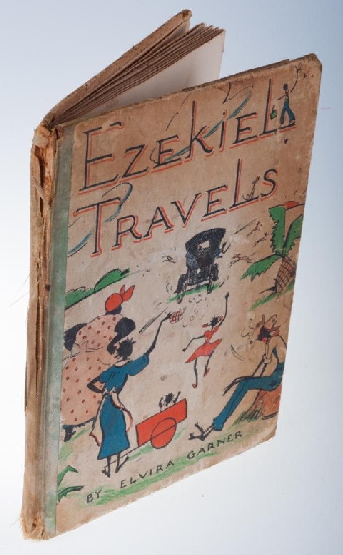 """Vintage Elvira Garner 'Ezekiel's Travels"""", 1938"""